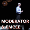<em>Chris moderates EMC&#8217;s Global Kickoff Event at the MGM</em>