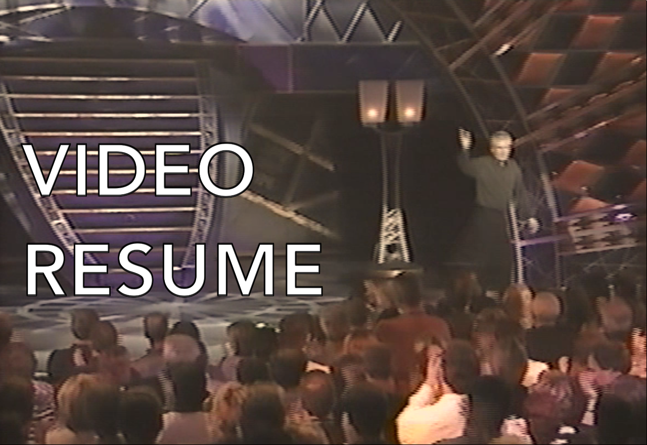 <strong>VIDEO RESUME</strong>