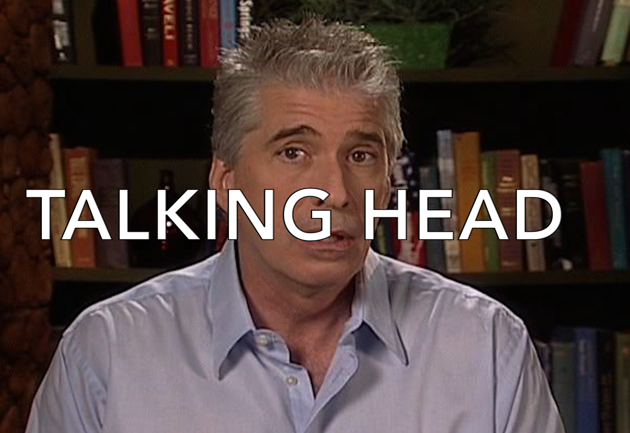 <strong>TALKING HEAD</strong>